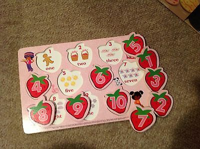 Strawberry shortcake number puzzle  ... very nice