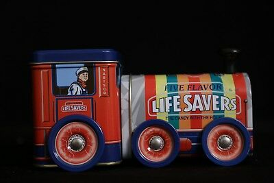 Life Savers Choo Choo Train Tin
