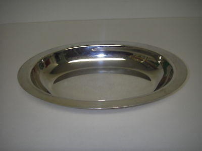 Tableware HALLOWWARE Silverplate Serving Bowl Oval 11.5