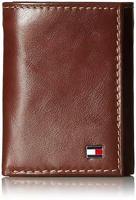 Tommy Hilfiger Men's Logan Trifold Zipper Coin Credit Card ID Wallet 31TL110018