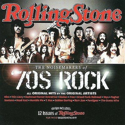 Various Artists : Noisemakers of 70s Rock CD