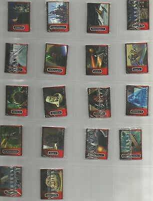 NEW ZEALAND Star Wars Bluebird trading cards (1999) 102 cards + 4 food bags