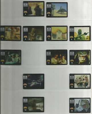 SPAIN Star Wars MATUTANO film cels (1997) 38  different cels
