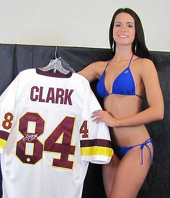 GARY CLARK signed jersey - Washington Redskin Receiver