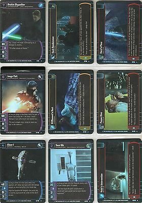 STAR WARS ATTACK OF THE CLONES CCG TCG WOTC FOIL Parallel (2002) 49 diff. cards