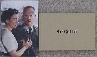 Manhattan Final Season 2 Wgn 2015 Promo Print Press Kit Photo Book Manh(A)Ttan