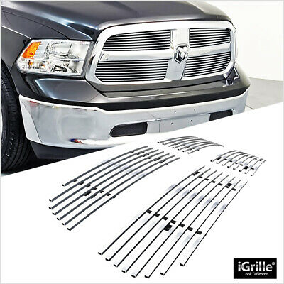 For 2013-2017 Ram 1500 Stainless Steel Billet Grille Grill Inserts