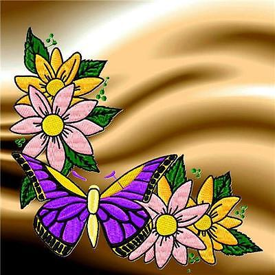 Butterfly Corners 10 Machine Embroidery Designs Cd 3 Sizes