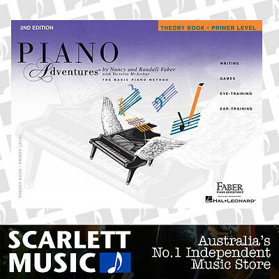 Piano Adventures 2nd Edition - Theory Book Primer Level Faber *BRAND NEW*