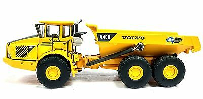 1:87 Volvo Construction Artic Dumper - Ac/dc - New Diecast In Display Case
