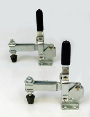 500 lb Vertical Quick-Release Toggle Clamp - 2 Piece Set