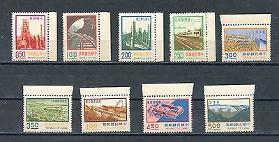 "Republic of China 1974 Scott 1907-1915 ""Major Construction Projects"""