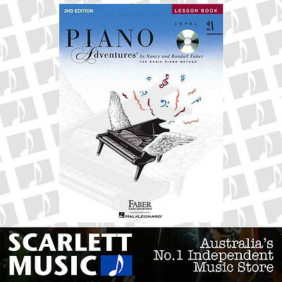 Piano Adventures 2nd Edition - Lesson Book Level 2A ( 2-A ) Faber WITH CD BK/CD