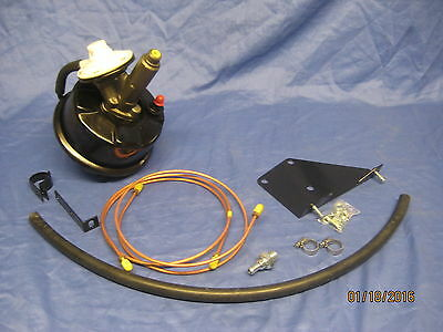 New Lockheed Type Remote Brake Servo Kit For  Mgb 1962 -1974 Retro Fit 1.65