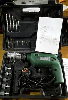 Variable Speed Electronic Hammer drill Impact drill driver corded with case