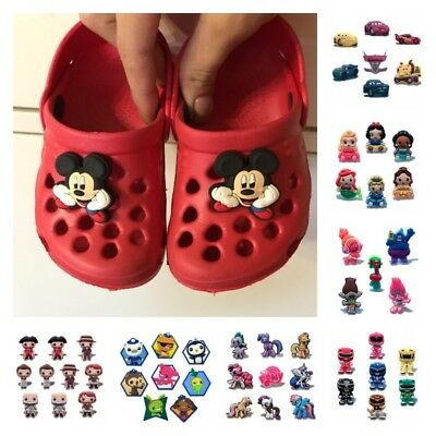 Hot Cartoon Shoe Charms Shoe Decoration fit shoes and wrisband for children Gift