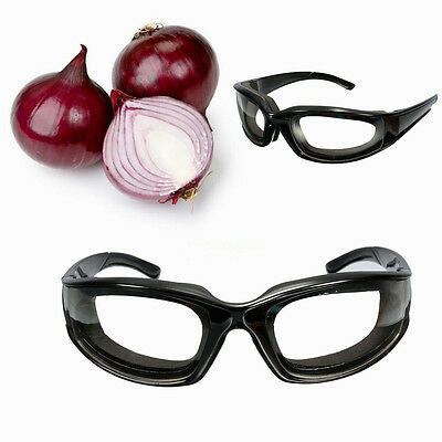 Tears Free Onion Goggles Glasses Built In Sponge Kitchen Slicing Eye Protect