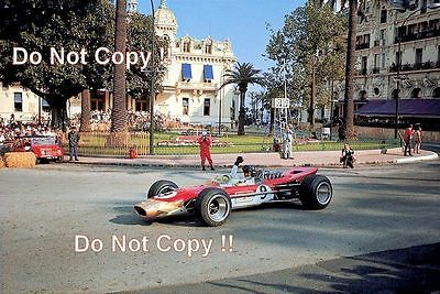 Graham Hill Gold Leaf Team Lotus 49B Winner Monaco Grand Prix 1968 Photograph 8
