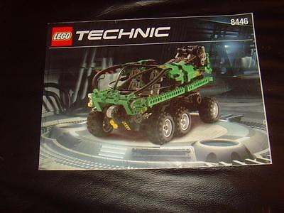 Lego Technic, Crane Truck, 8446, Instructions only