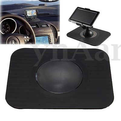 New Car GPS SAT Nav Dashboard Mount Dash Phone Holder Mat For Satnav Tom Navman