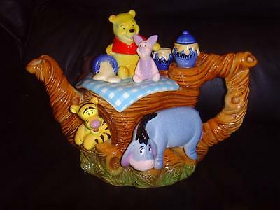 CARDEW WINNIE THE POOH LARGE TEAPOT DISNEY SHOWCASE COLLECTION Ltd Edt