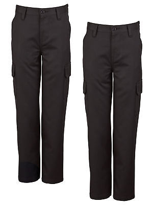 Top Class Boys Pack Of Two Cargo Trousers