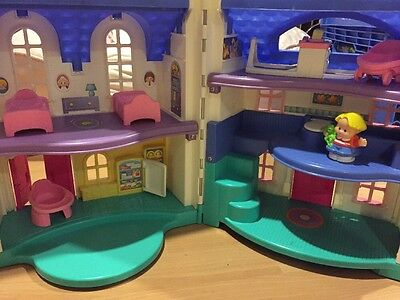 Fisher Price Little People Home Sweet Home Dollhouse Early 2000s • $19.00