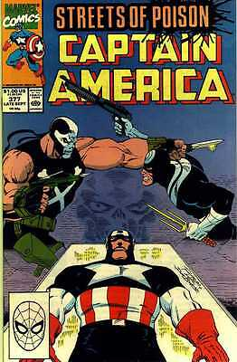 Captain America # 377 (Ron Lim) ('Streets of Poison') (USA, 1990)