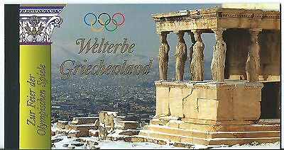 Greece Booklet Welterbe Griechenland Unmounted Mint, Mnh