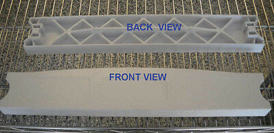"SUPER-PRO (1)  POOL  LADDER PLASTIC STEP TREAD  17.25""  White 25562-000-000"