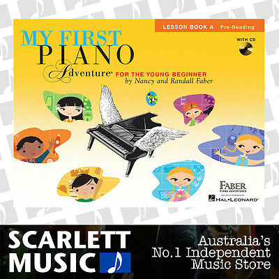 My First Piano Adventure For The Young Beginner - Lesson Book A & CD *NEW*