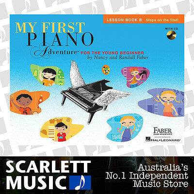 My First Piano Adventure For The Young Beginner - Lesson Book B + CD *BRAND NEW*