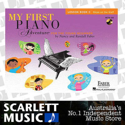 My First Piano Adventure For The Young Beginner - Lesson Book C + CD *BRAND NEW*