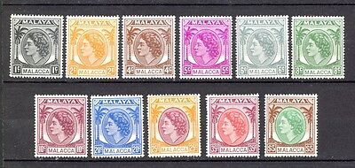 Malaya - Complete Series, Visible Yellow Stains On Stamp. See Scans, Interesting