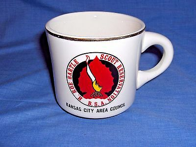 #1121 - Boy Scouts Of America Coffee Cup, Mug - H. Roe Bartle Reservation, Kc