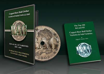 Award Winning Capped Bust Half Dollar Multimedia CD and BOOK!