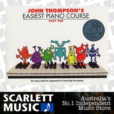 John Thompson's Easiest Piano Course - Part 1 WITH CD (Part One BK/CD) *NEW*