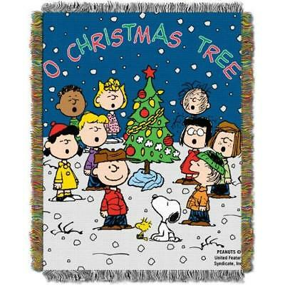 Peanuts, Charlie Brown, Charlie Brown Christmas 48-Inch-by-60-Inch Acrylic