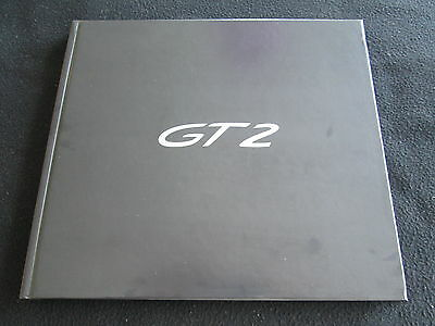 2008 2009 Porsche 911 GT2 Limited Edition Sales Book 997 GT-2 Brochure Catalog