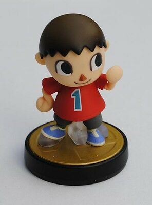 NINTENDO amiibo Villager figure Smash Bros WiiU Bewohner Animal Crossing Figur
