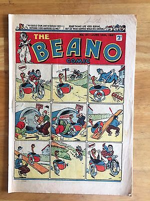 THE BEANO COMIC JUNE 14th 1947 LORD SNOOTY PANSY POTTER 70th BIRTHDAY GIFT! VG