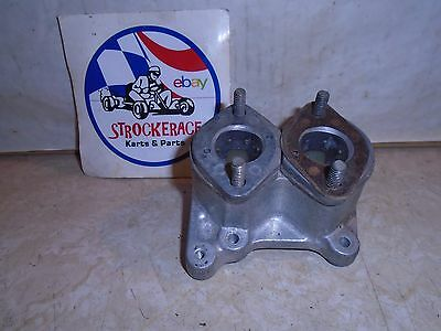 VINTAGE RACING GO KART GEM McCULLOCH DUAL INTAKE MANIFOLD CART PART
