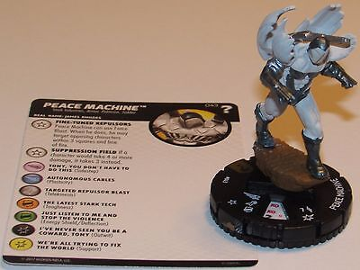 PEACE MACHINE 043 15th Anniversary What If? Marvel HeroClix Super Rare