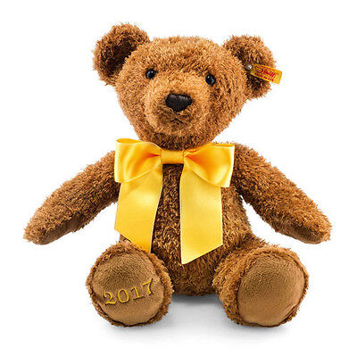 Cosy Year Bear 2017 brown with FREE gift box by Steiff EAN 690037