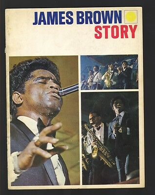Original 1964 JAMES BROWN Concert Tour Program The James Brown Story