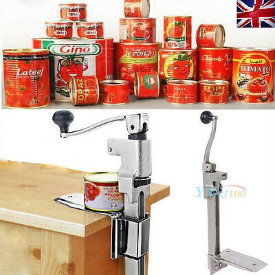Universal Pro Stainless Can Tin Opener for Large Catering Tins/ Cans Kitchen Use