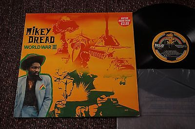 MIKEY DREAD World War III 3 (Dread At The Controls UK Original LP 1980) EX+