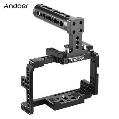 Video Camera Cage Stabilizer Film Making Rig for SONY A7II A7RII A7SII Camcorder