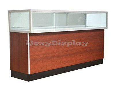 70'' Cherry Style Jewelry Vision Display Assembled Showcase #JD6C-SC