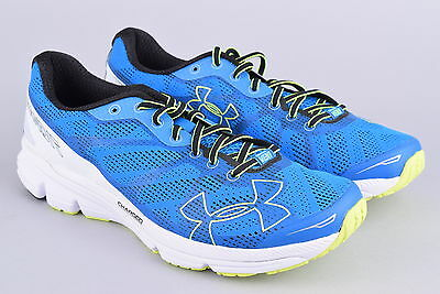 Under Armour Charged Bandit Running Shoes   Men's 9.5 - 43   Blue Yellow